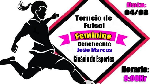 Torneio de futsal feminino beneficente acontece neste domingo em ... a1ba3001e98dd